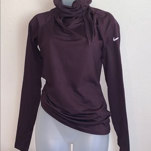 Nike purple sweater